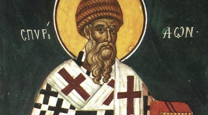 Святителя Спиридона, епископа Тримифунтского, чудотворца