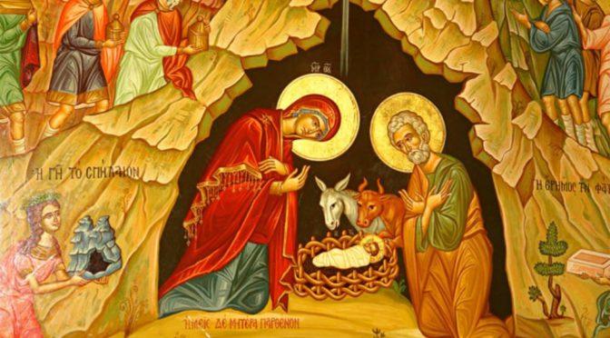 Неделя 31-я по Пятидесятнице. Рождество Господа Бога и Спаса нашего Иисуса Христа