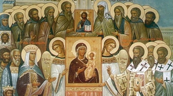 Неделя 1-я Великого поста. Торжество Православия