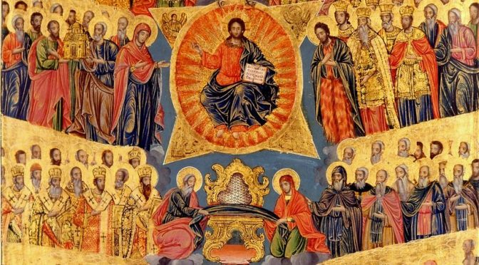 Неделя 1-я по Пятидесятнице. Всех святых