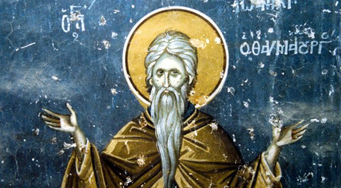 Неделя 22-я по Пятидесятнице. Преподобного Иоанникия Великого