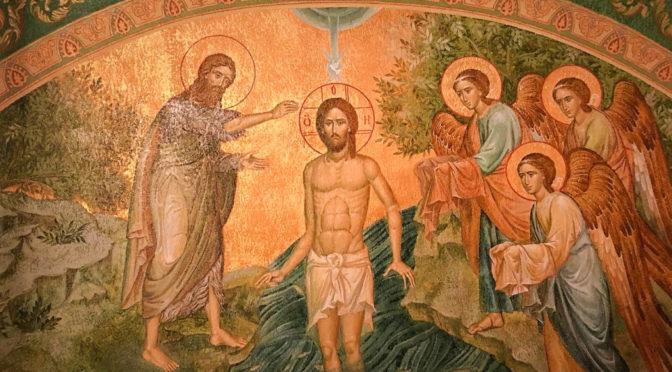 Неделя 31-я по Пятидесятнице. Святое Богоявление. Крещение Господа Бога и Спаса нашего Иисуса Христа