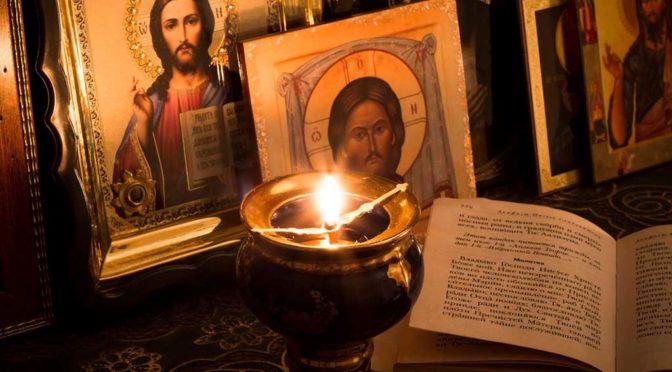 Чтение молитвы по соглашению во время вредоносного поветрия