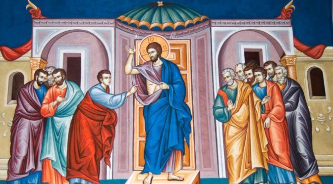 Неделя 2-я по Пасхе, апостола Фомы. Антипасха