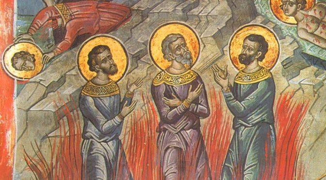 Неделя 23-я по Пятидесятнице. Мучеников Акиндина, Пигасия, Аффония, Елпидифора и Анемподиста
