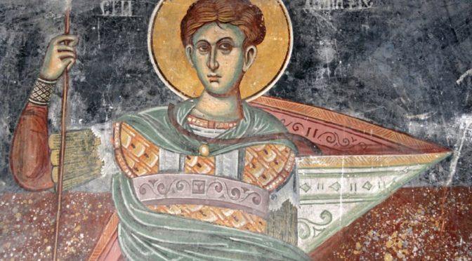 Неделя 22-я по Пятидесятнице. Великомученика Димитрия Солунского