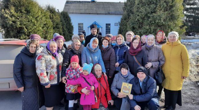 Прихожане нашего храма побывали в храме Рождества Христова в селе Вязовка