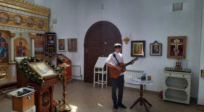 В нашем храме состоялся Пасхальный концерт